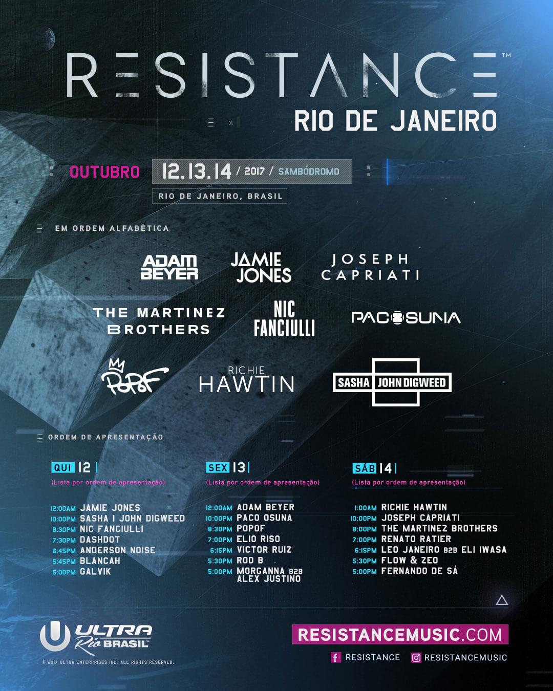 RESISTANCE Rio de Janiero